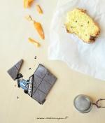 Fluffosa ai mandarini e cioccolato (no lattosio)