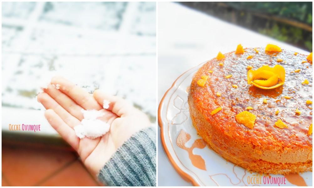 torta soffice arance