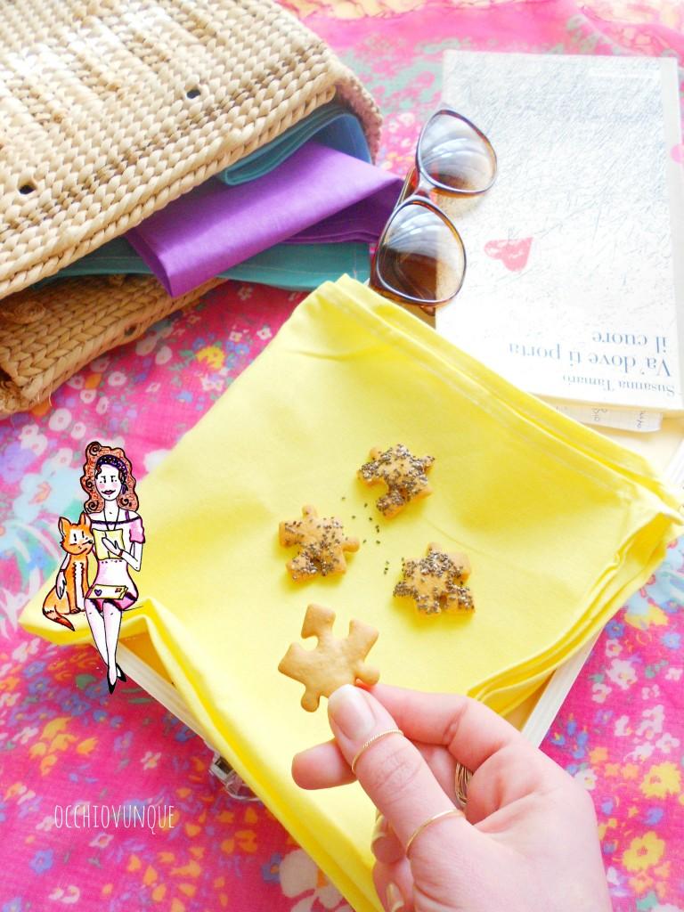 Bicoti grana e semi di papavero