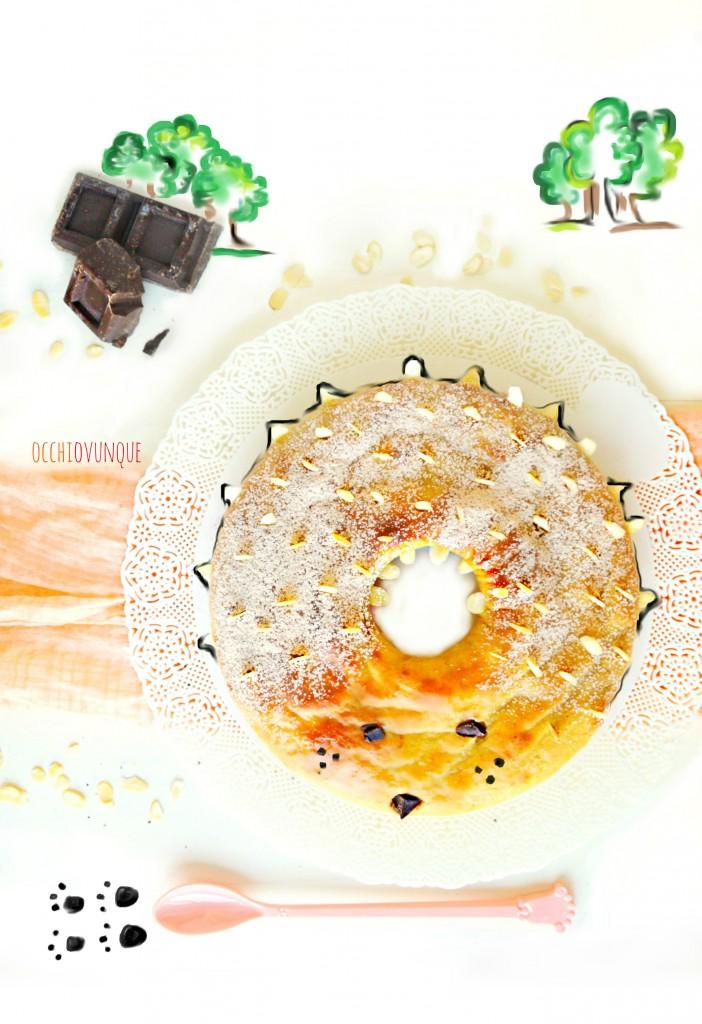 torta riccio castagne