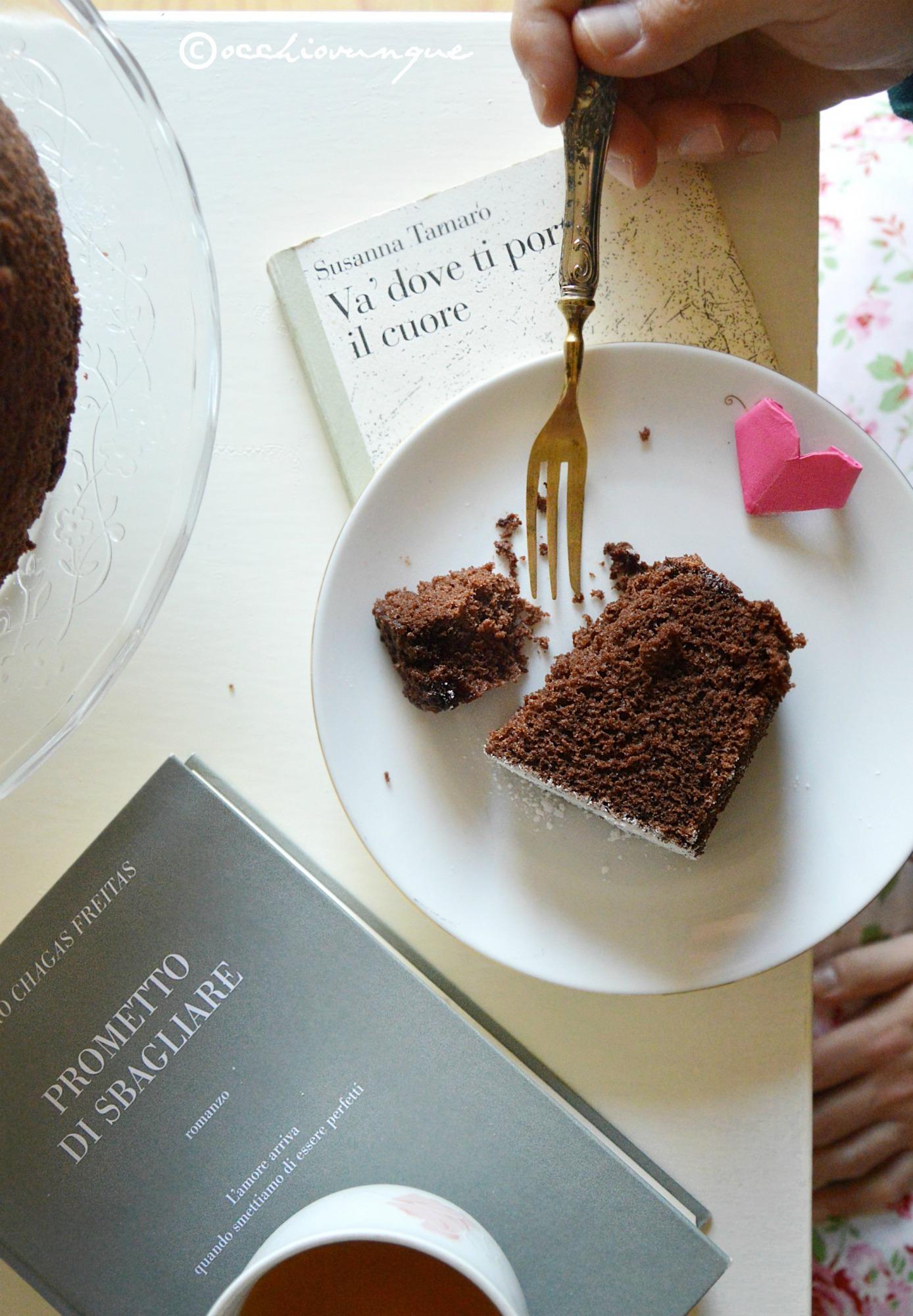 Chiffon cake al cacao ricetta