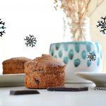 Muffin al cioccolato con spezie natalizie | SENZA BURRO