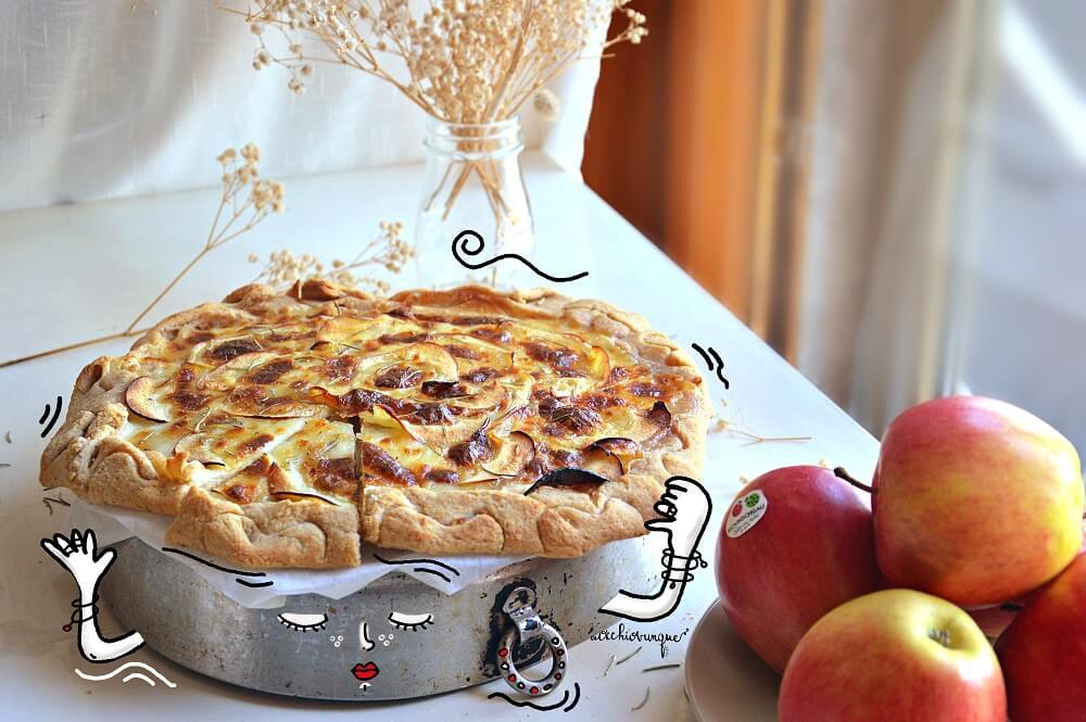 pizza di mele senza lievito