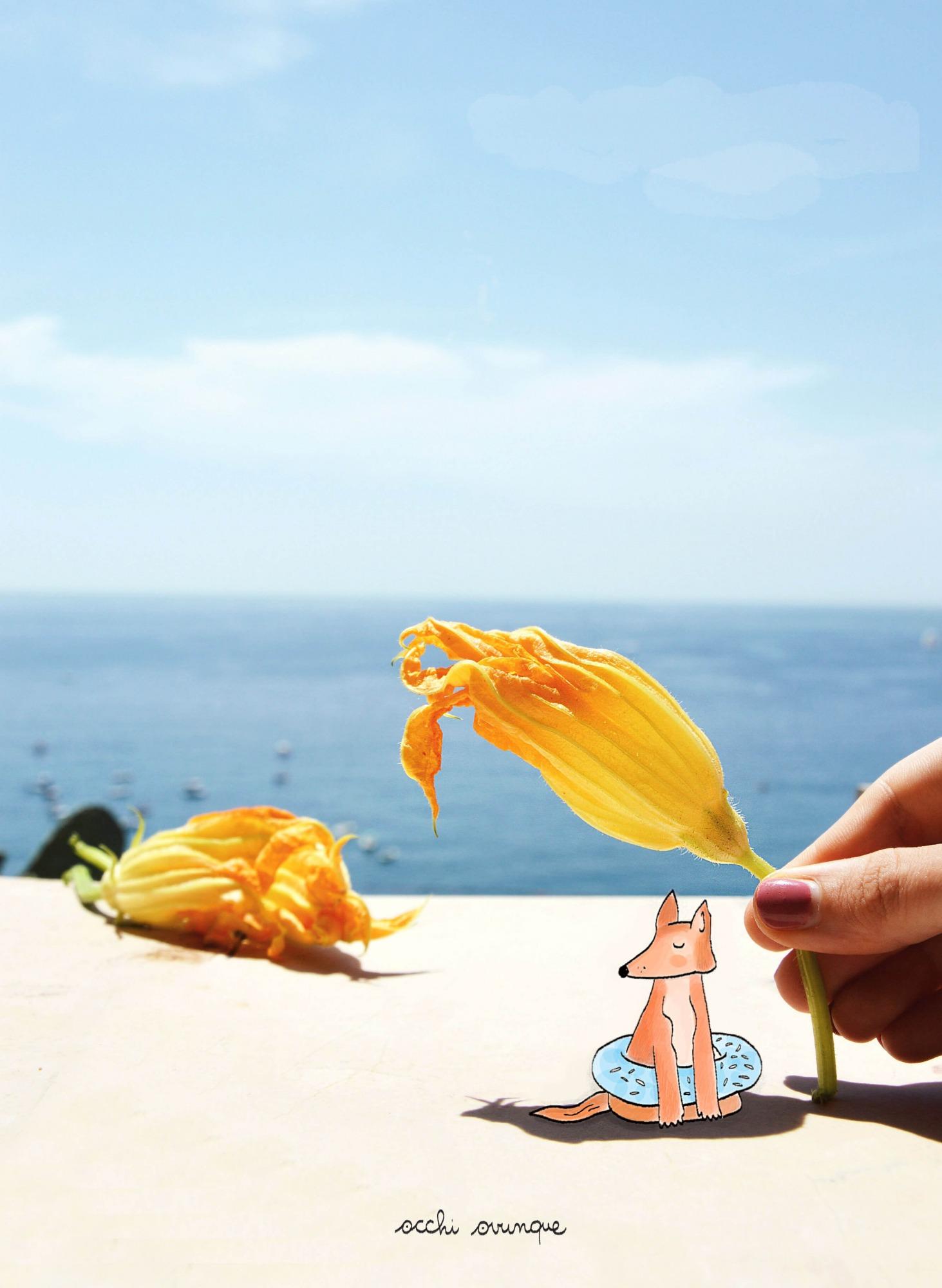 fiori di zucca fritti ricetta