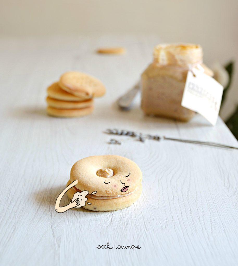 biscotti lavanda senza burro