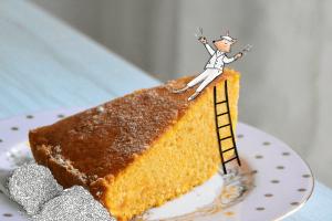 torta zucca e mandorle