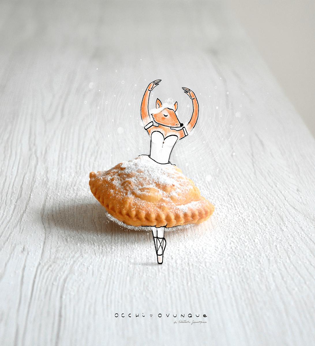 calzoncelli di castagne dolce natalizio campano