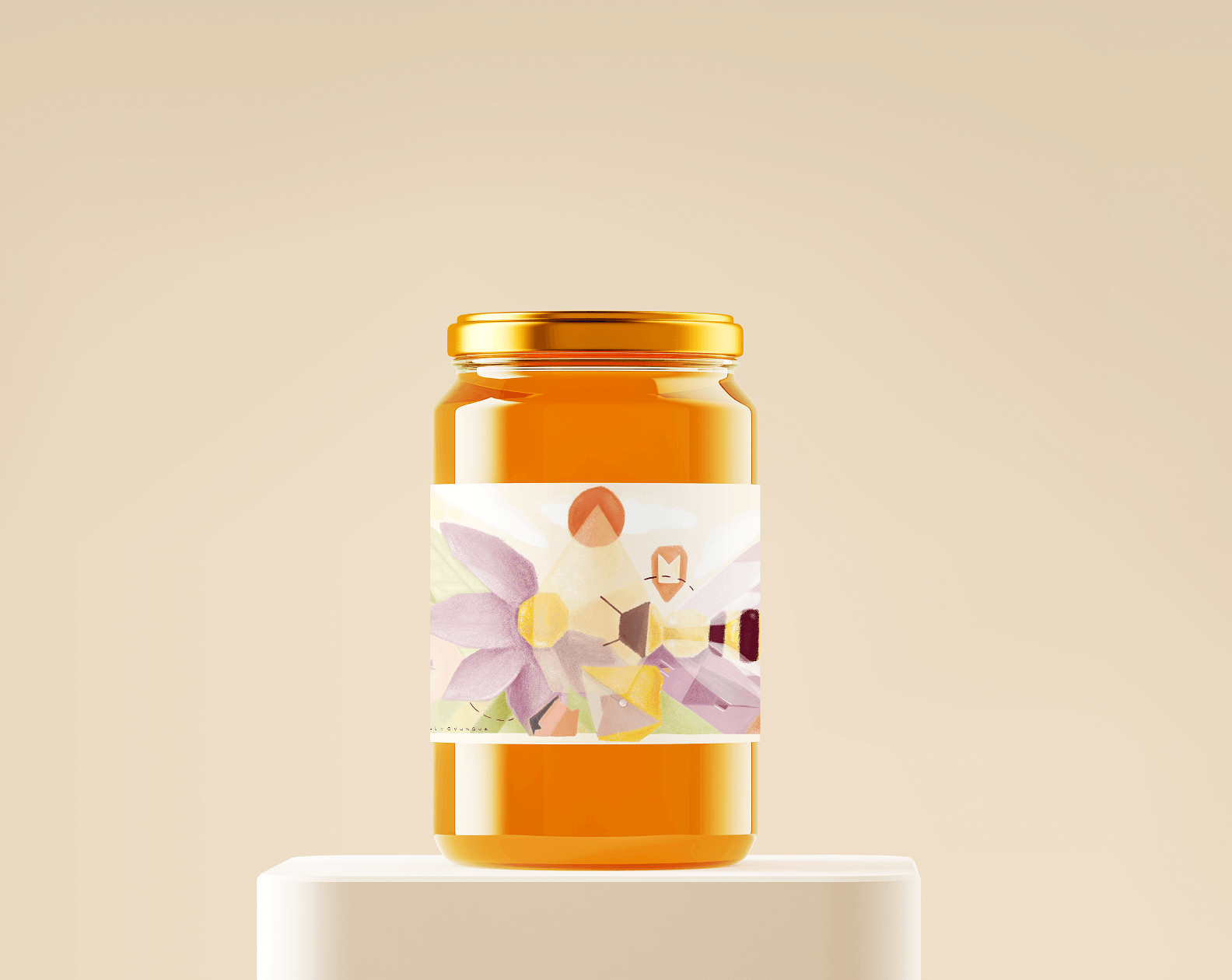 etichette miele gocce apiario d'autore